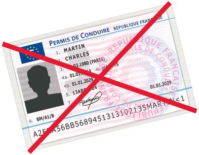 Continuer à conduire malgré un permis invalidé?